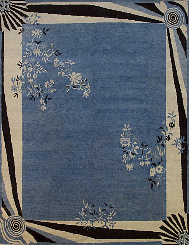 Chinese Art Deco Area Rugs