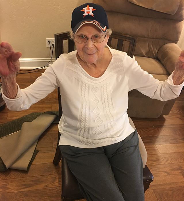 After class Lou wanted to try on my hat, she said she could catch. She's is seriously so sweet and also silly! Haha I love my Revitalize family.