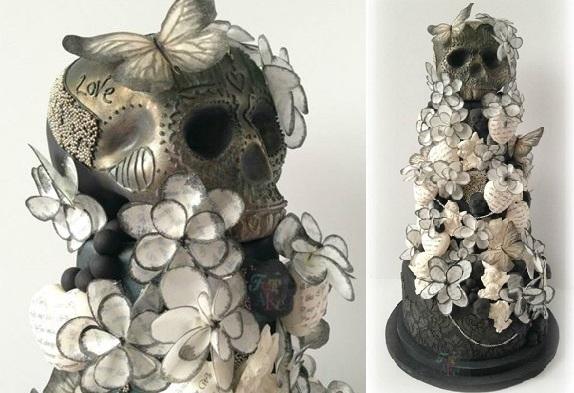 halloween-wedding-cake-gothic-elegance-by-Fat-Cakes-Design