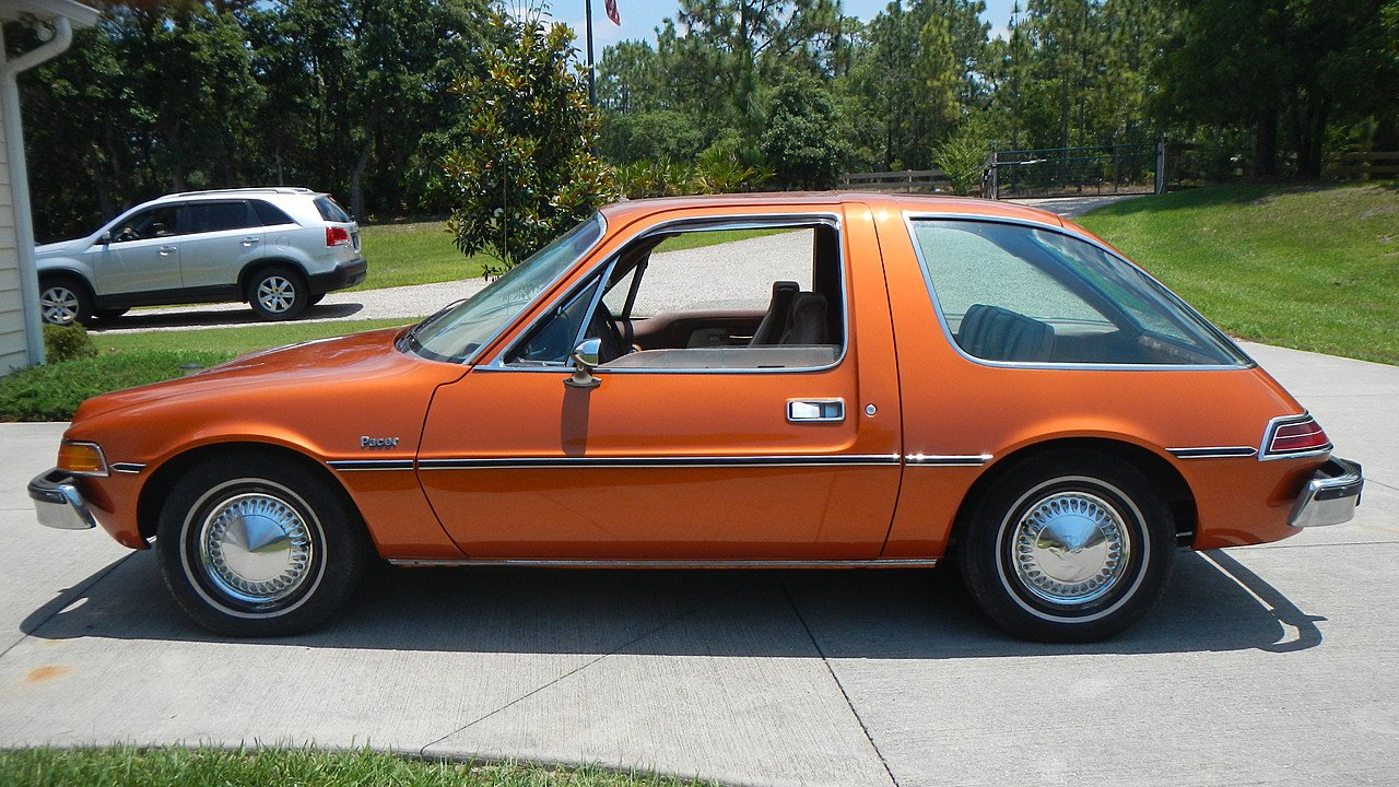 This is a pretty sweet pacer. Grandma's was the color of glittery poop. The body shop called it antique gold, we called it grounds for a refund.