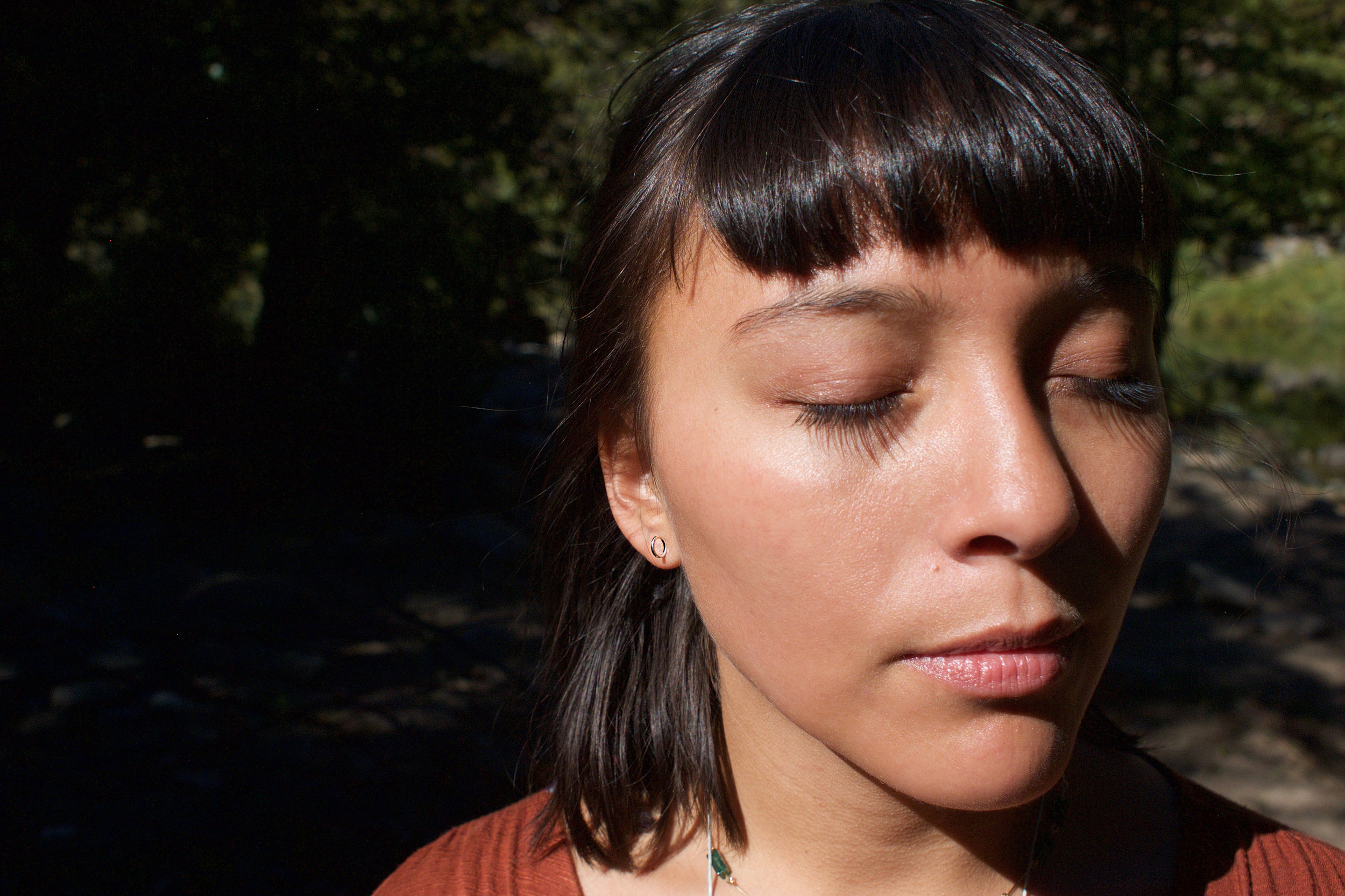 circle earring and sunshine.jpg