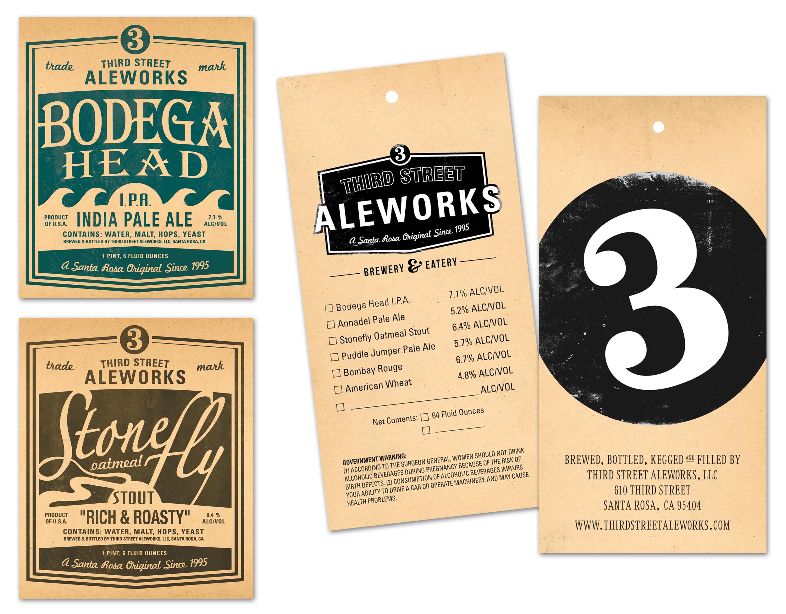 Beer Bottle Labels & Growler Tags | Design