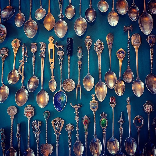 After a long, hot, sweaty summer I have finally had a moment to get crafty and exhale! Presenting my newest shadow box collection... antique spoons! 😊  #soulfood #beautyoftheexhale #finally