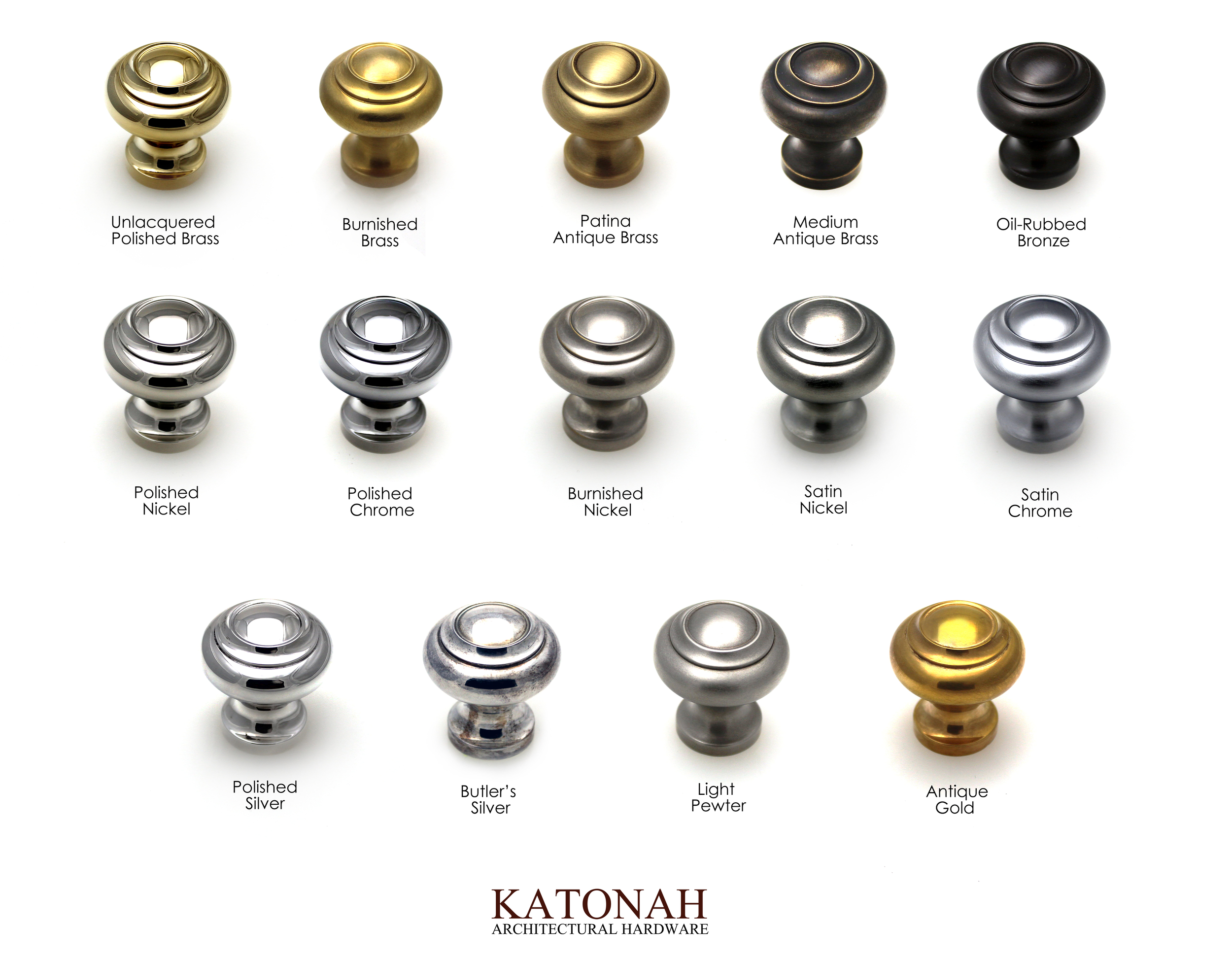 Finishes Katonah Architectural Hardware