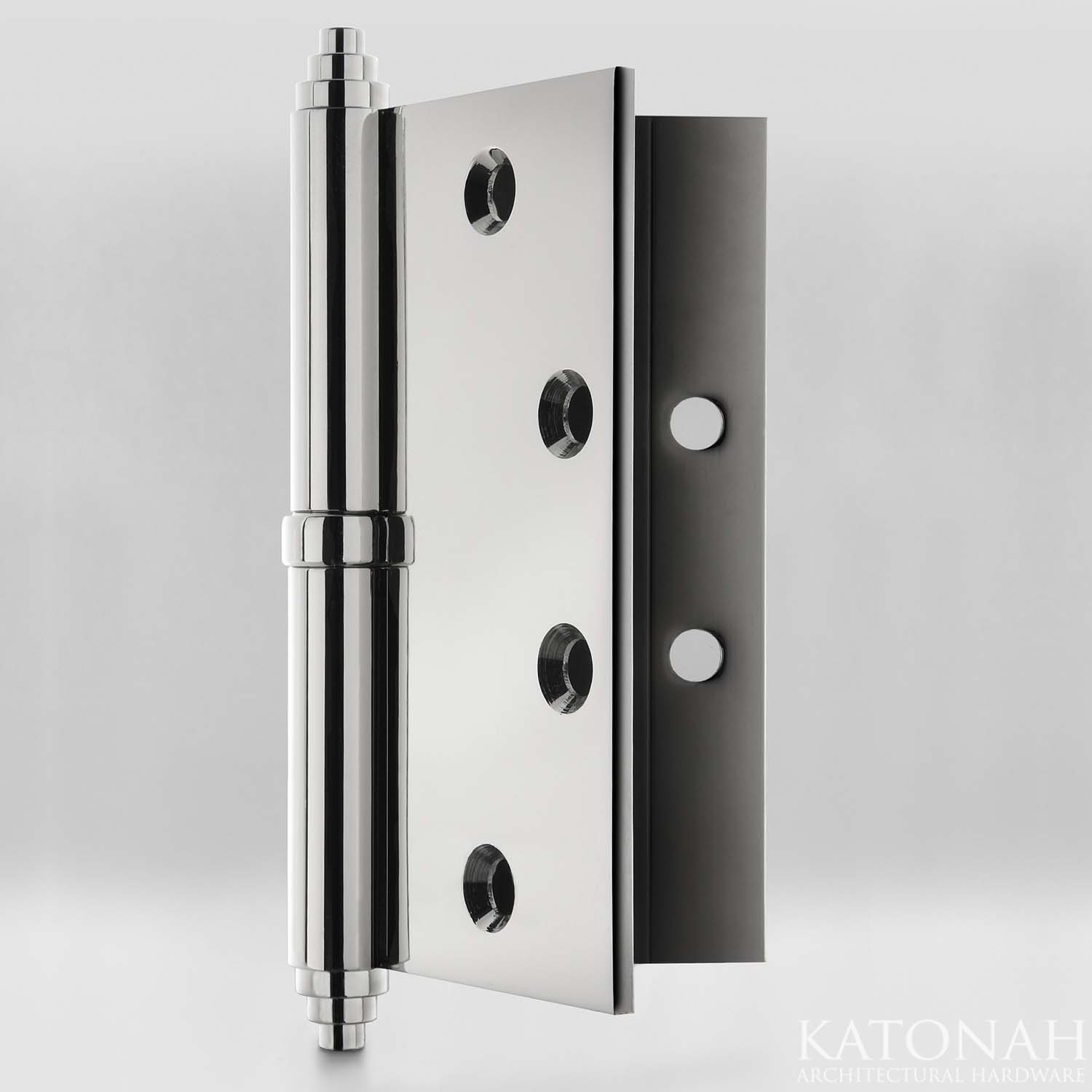 Lift Off Hinge With Exposed Bearing And Stepped Finial