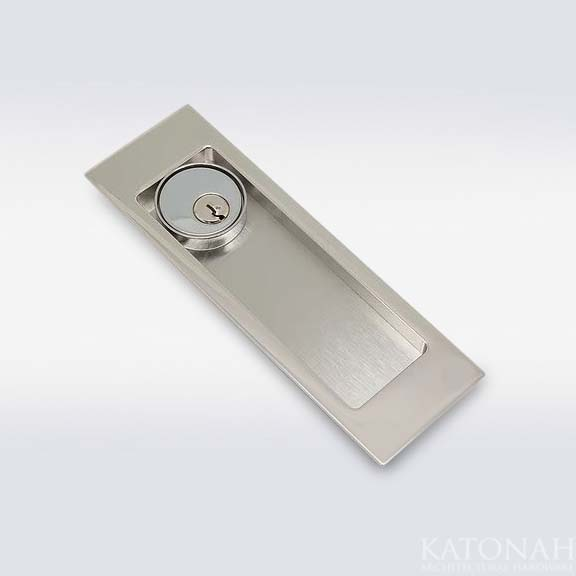 Caton Flush Pull with Cylinder