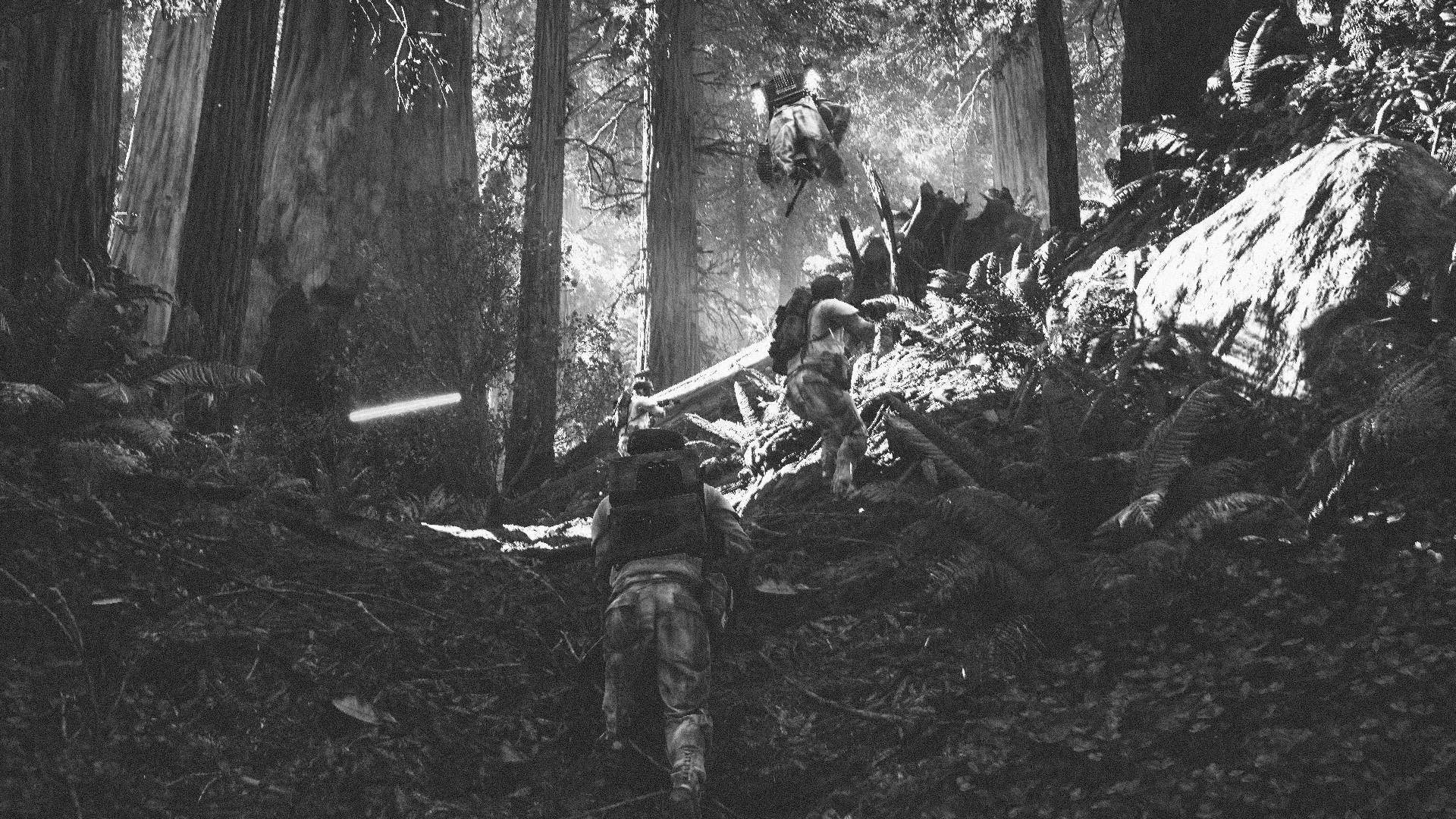 The Imperial forces had launched an attack not far from us.