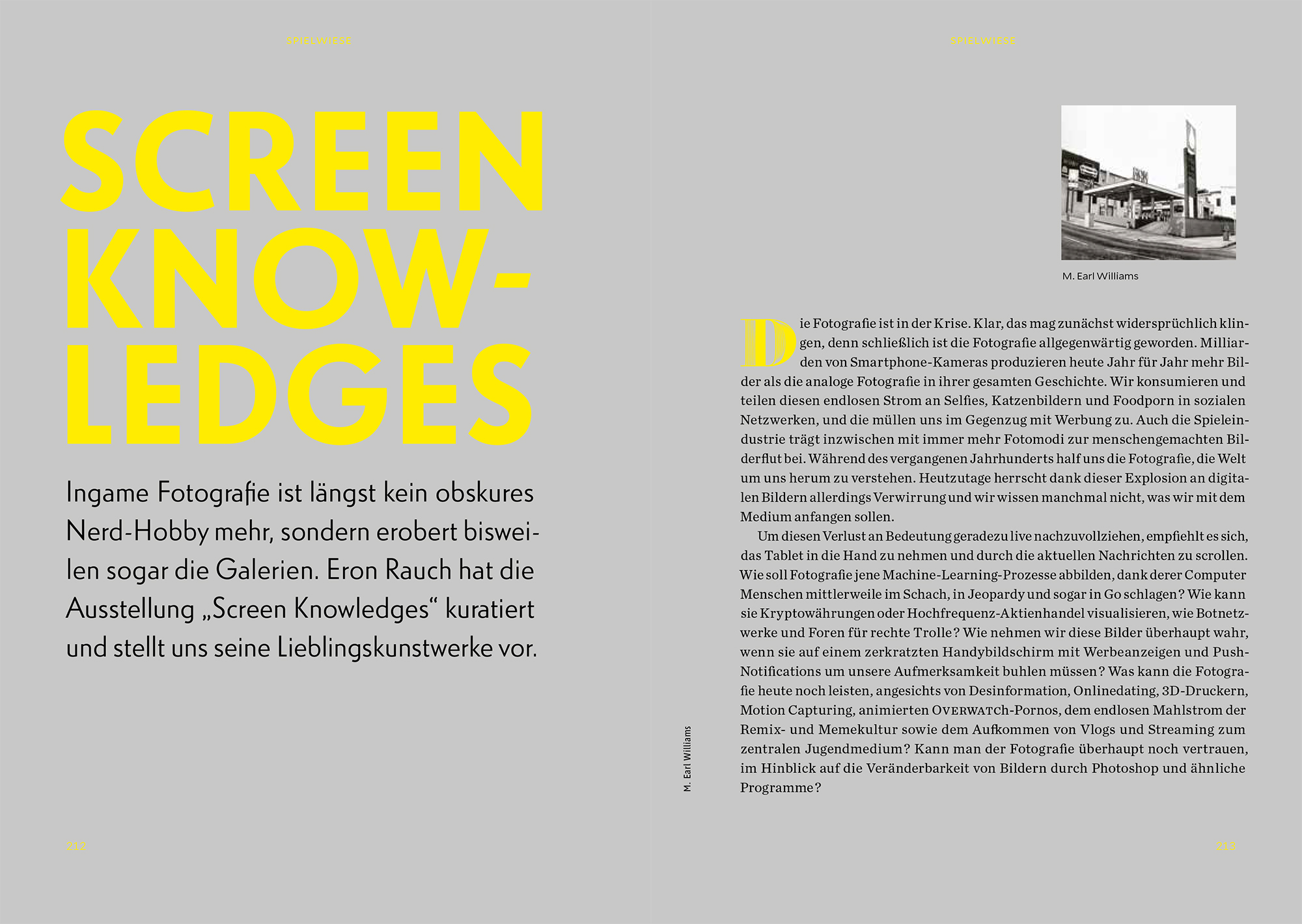For WASD Magazine with 'Screen Knowledges'