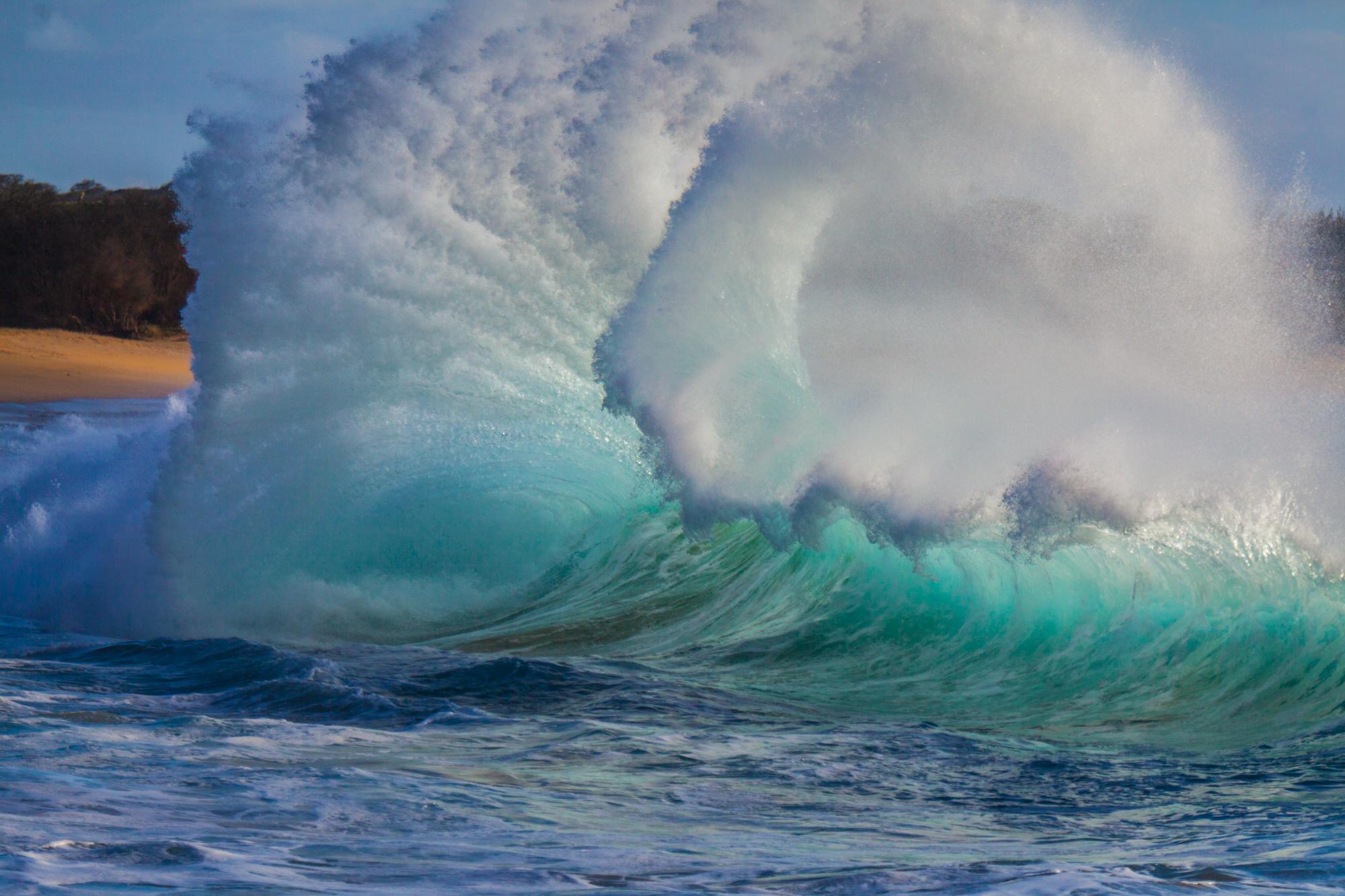 Elizabeth Fenwick-beach, Hawaii, Hui, molokai, Papohaku Beach-Hawaii-1.jpg