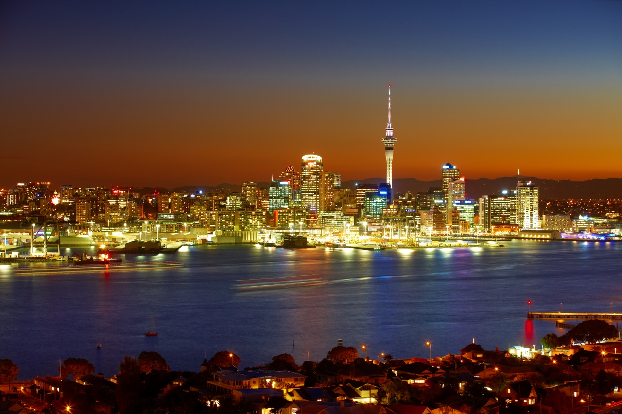 Evening view of Auckland from Devonport_79155.jpg