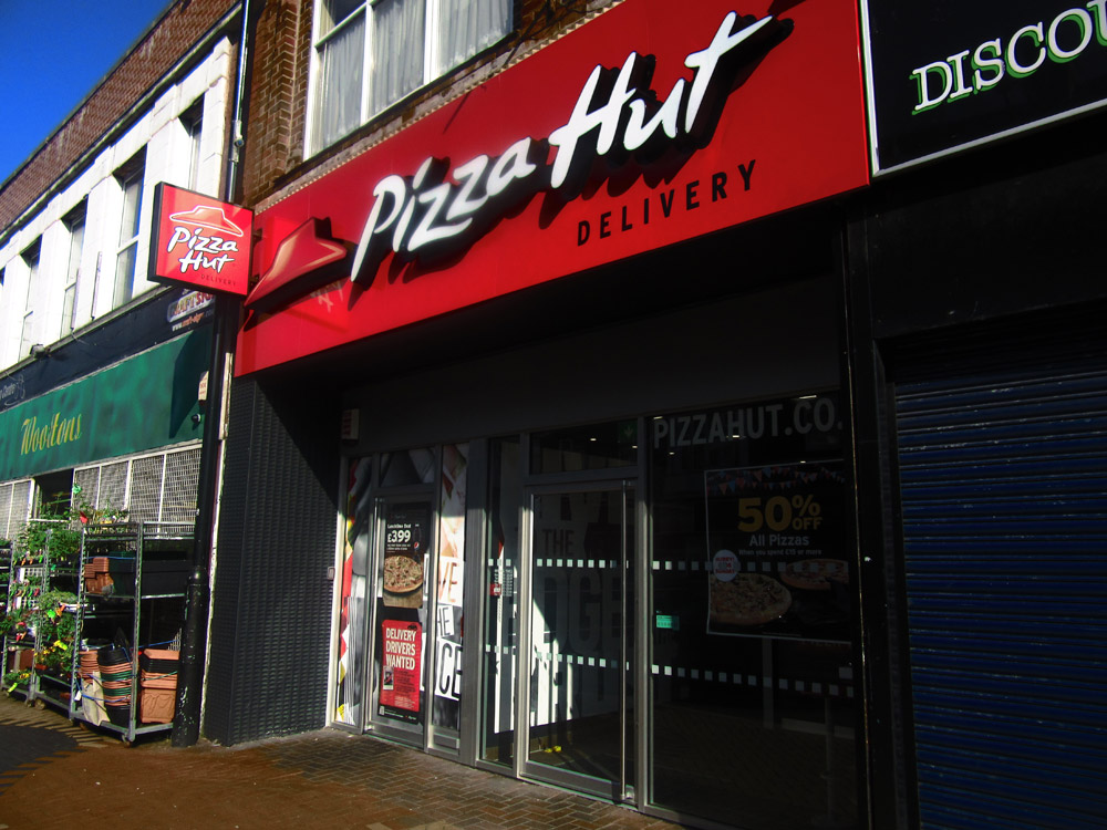 external photo pizza hut