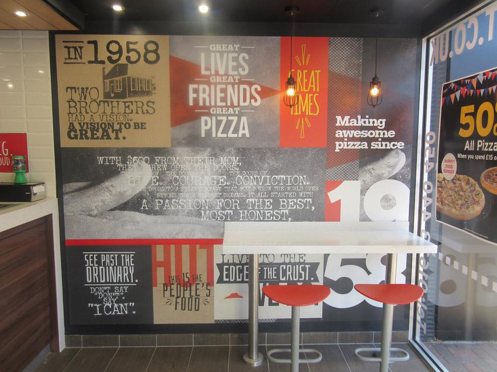 Pizza Hut Brightman Clarke Architects