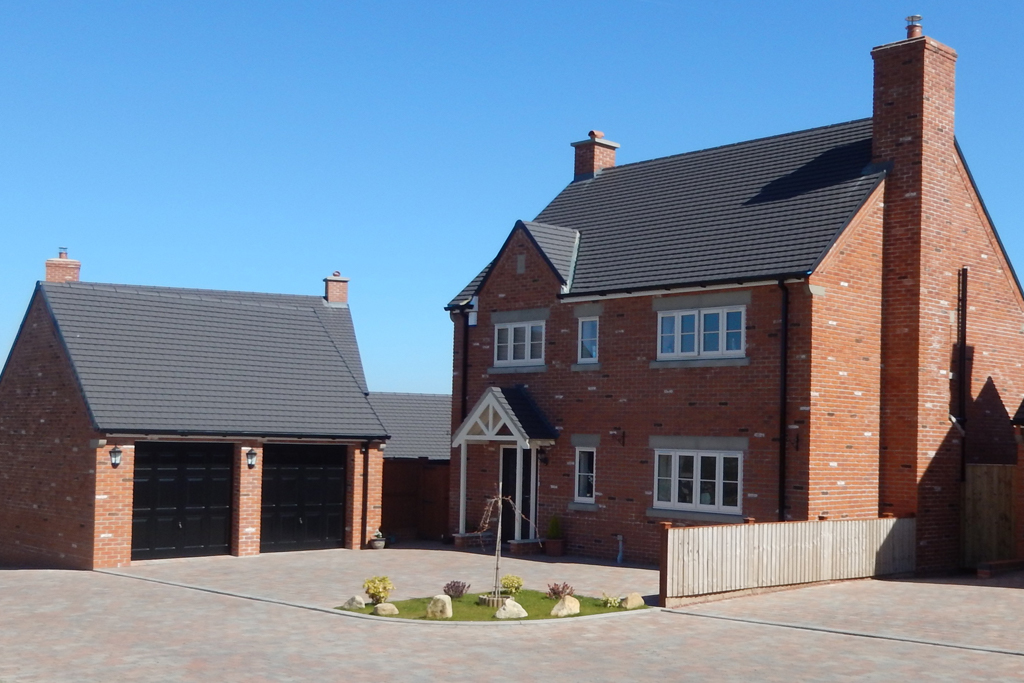 chesterfeild new build residential development