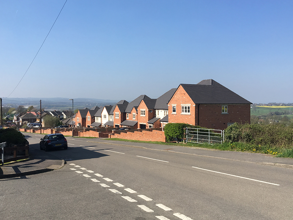 new build houses in chesterfield by architects in sheffield