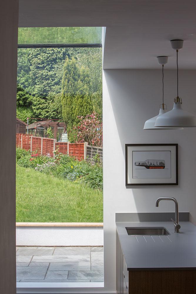 contemporary kitchen glazing