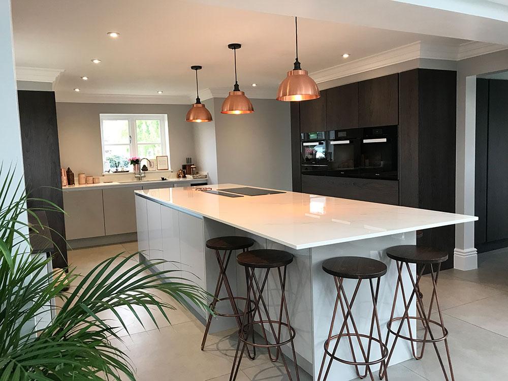 modern kitchen design derbyshire