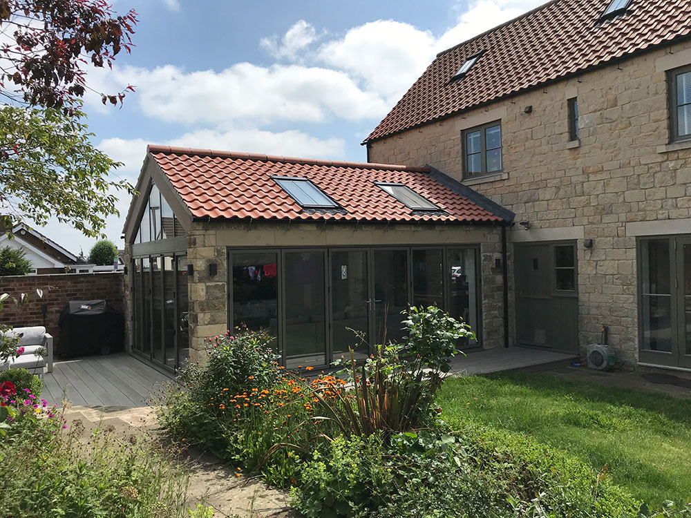 stone extension in chesterfield