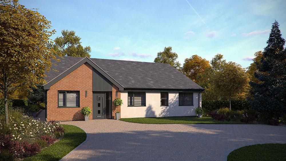 New build bungalow