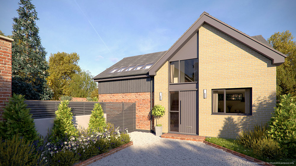 new build house london