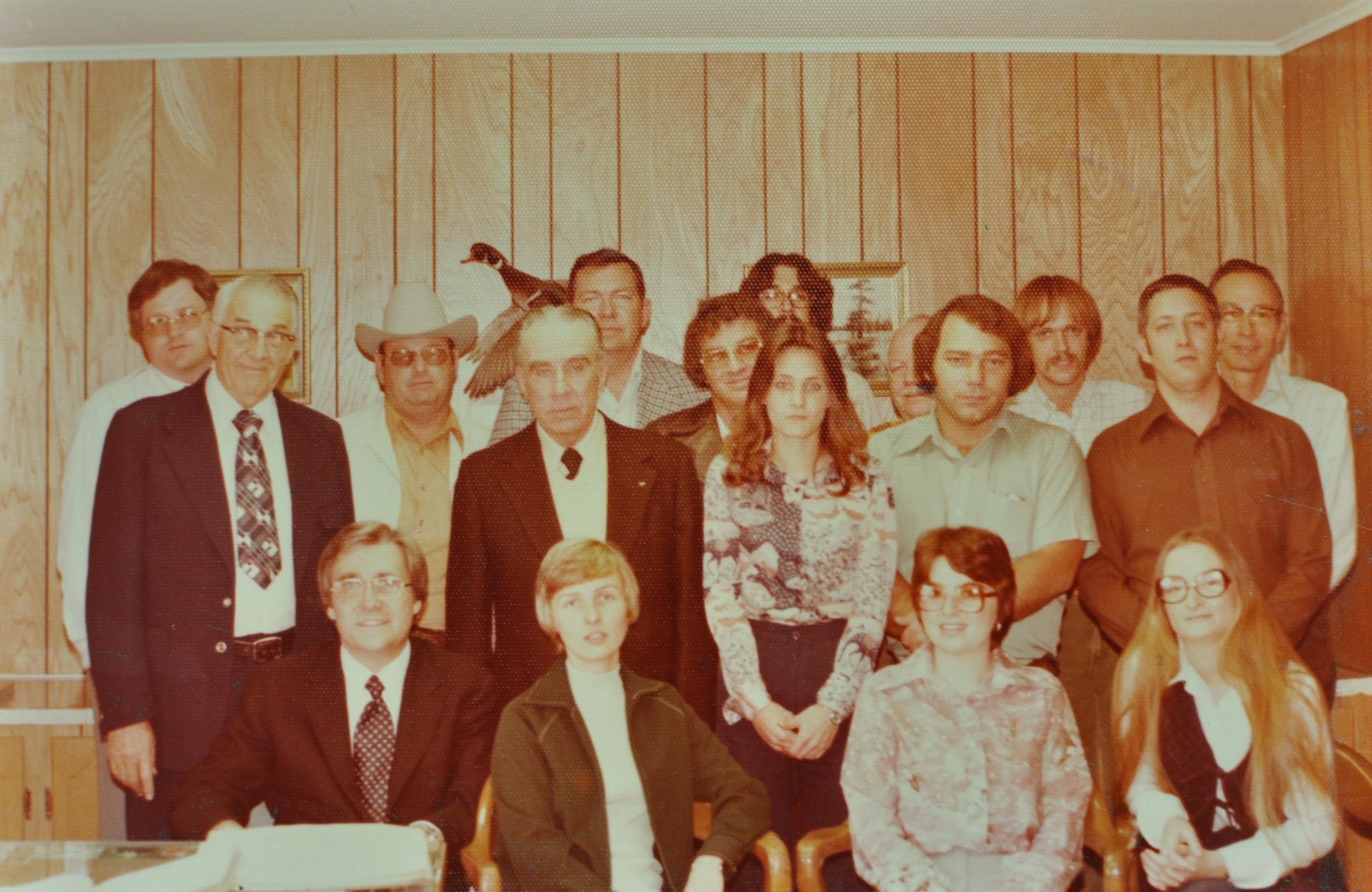 Office Staff 1978