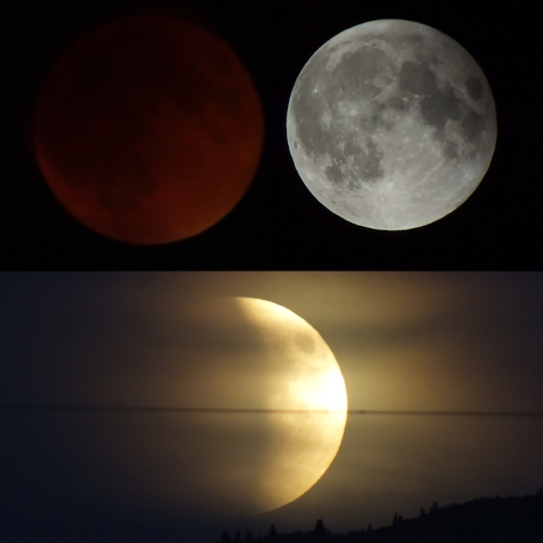 Full, Super, Blue, Blood, and Eclipse.... just missing the Blue moon from a few years ago.