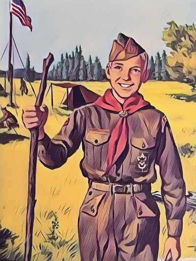 Cheerful Scout