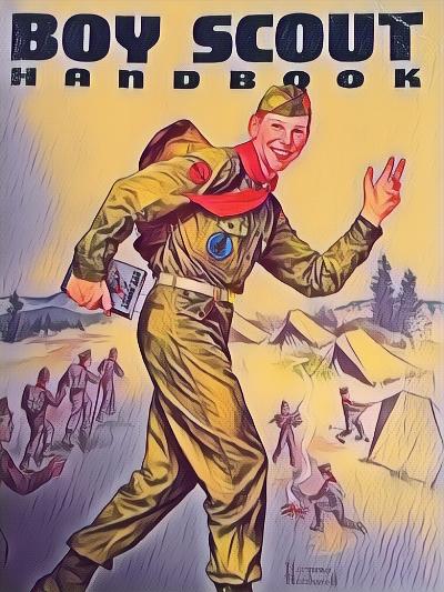 1959 Boy Scout Handbook