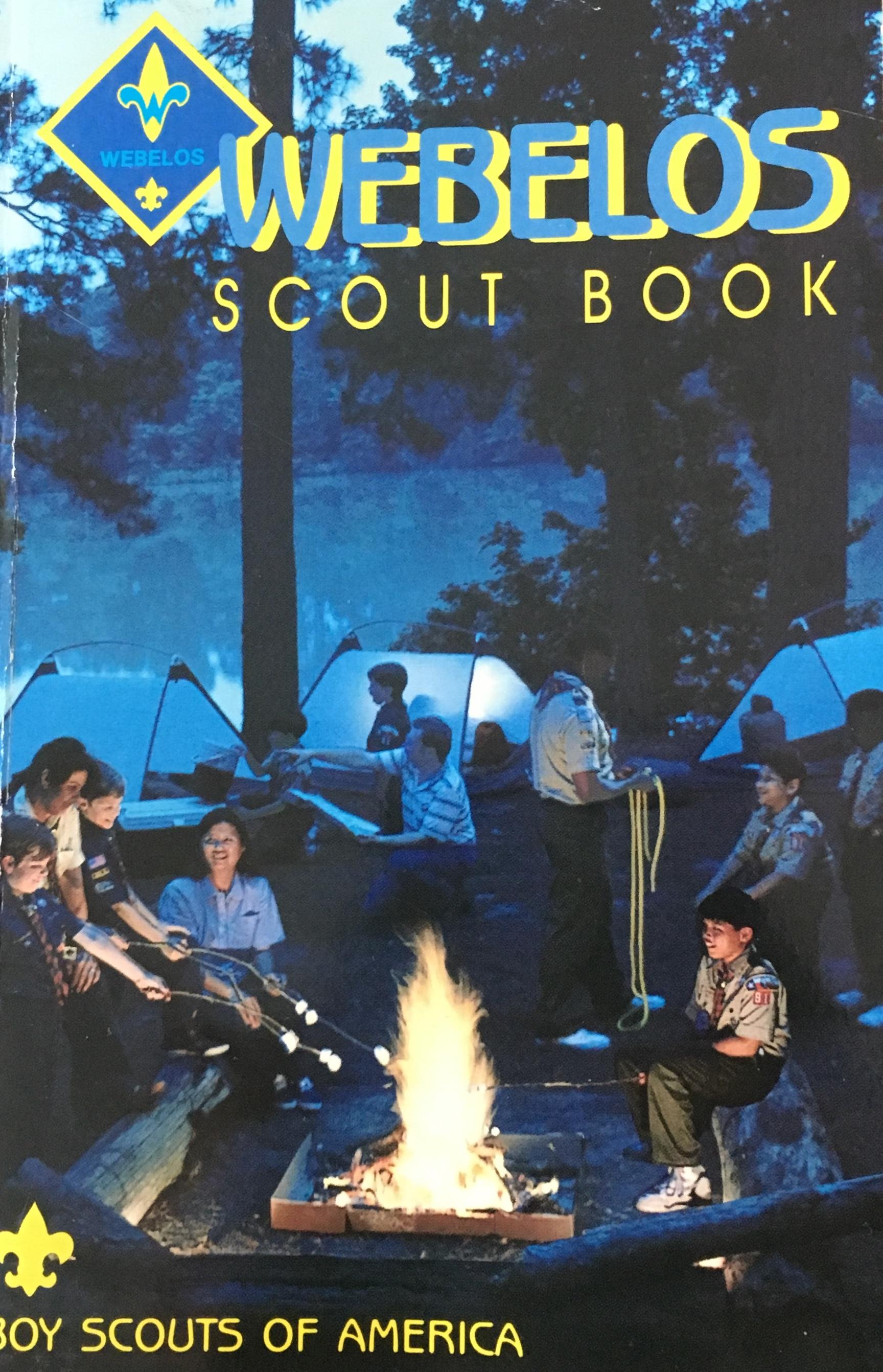 1995 Webelos Book