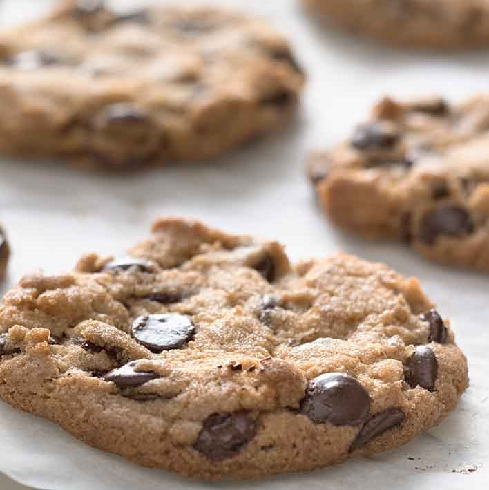 Chocolate Chip Wheat Cookies