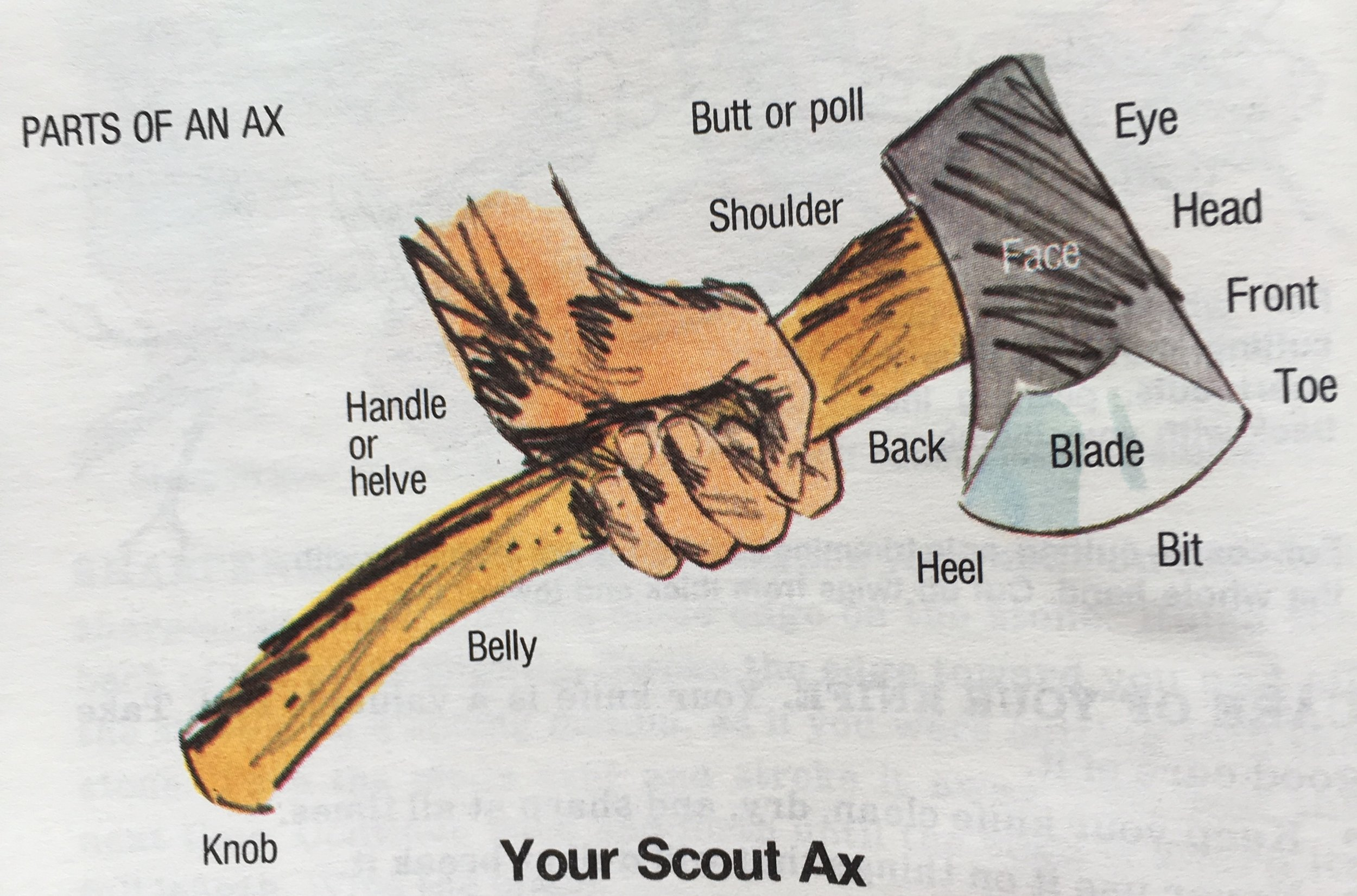 Parts Of An Ax