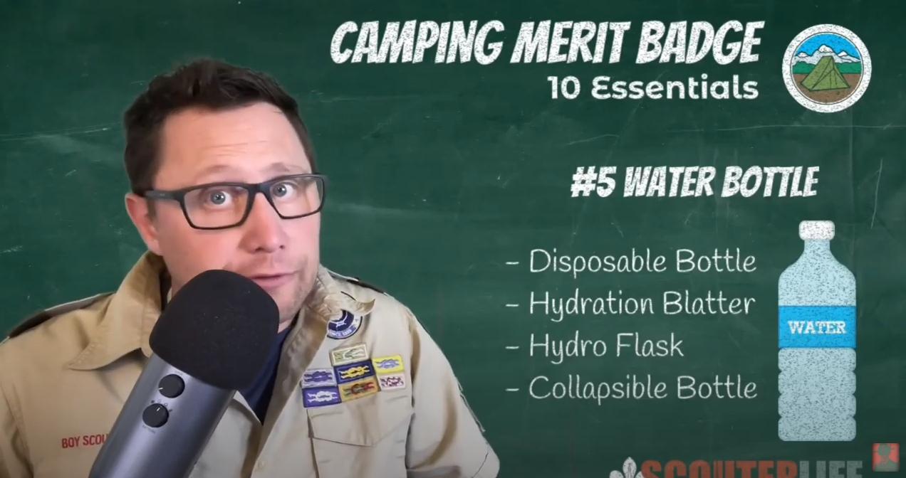 露营的Merit徽章 - 水壶.png