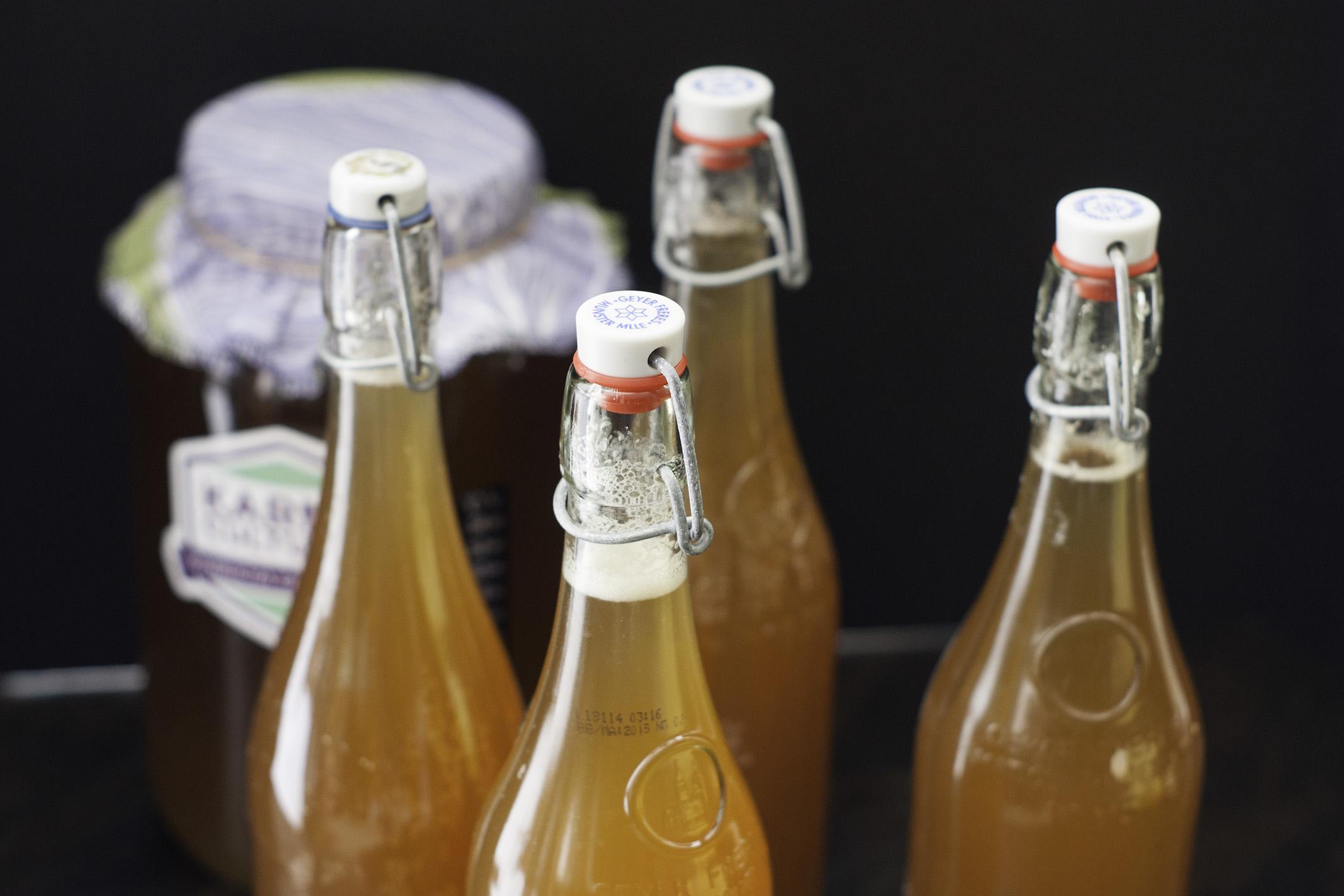 On voit déjà beaucoup de belles bulles et la 2e fermentation n'est même pas encore commencée!