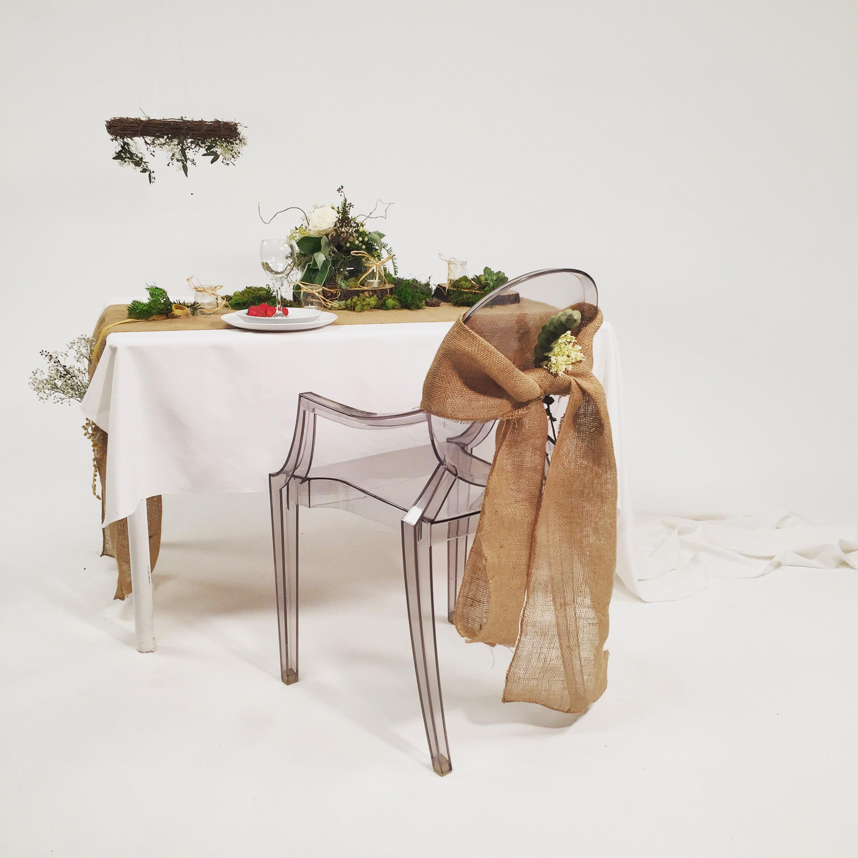 Mariage - décor rustique