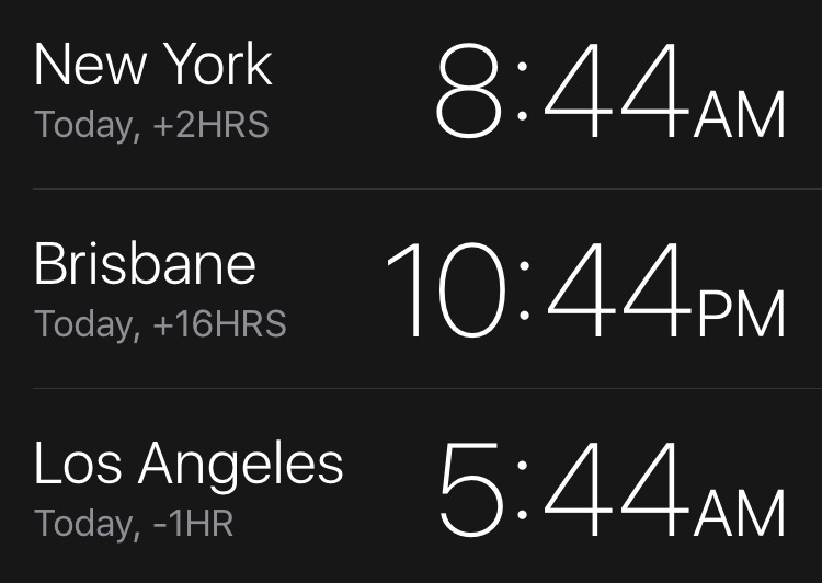 Queensland Standard Time