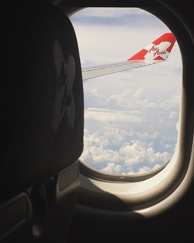 """I've grown to love the feeling of being on a plane.  You can't escape your thoughts while flying.  It's usually the moment when I hit 30,000 feet that the flashbacks of the life that I've just left behind start invading.  It's like the bookend to an adventure.  Enjoy it while you can because as soon as the doors open and you walk out into the terminal at your destination your brain goes back into survival mode and it's 0-60 all over again."" 📷 ✏️ #onlyasurferknowsthefeeling #PLANESTORIESPARTII"