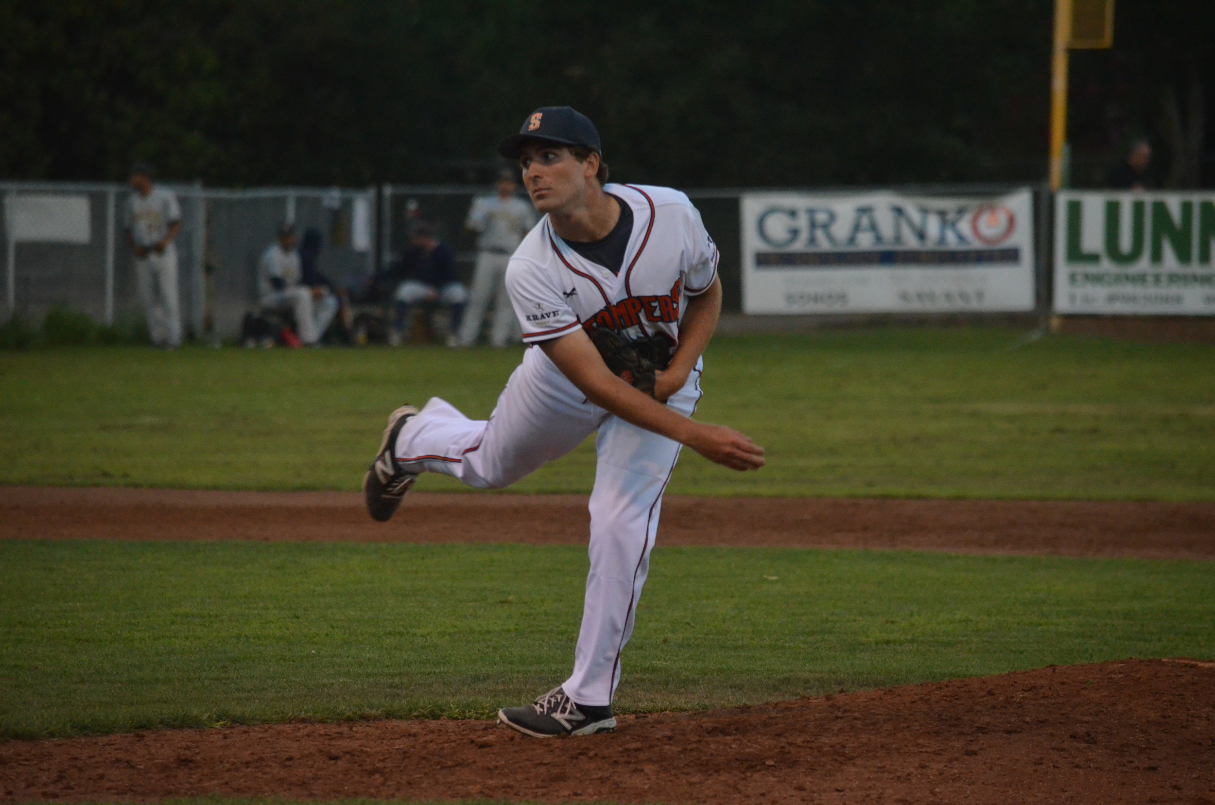 Sean Conroy will return to the Sonoma Stompers for the 2016 season. Last season, he was named the Pacific Association's top reliever,and was recognized by the league as its top defensive pitcher during his rookie season.   James Toy III/Sonoma Stompers