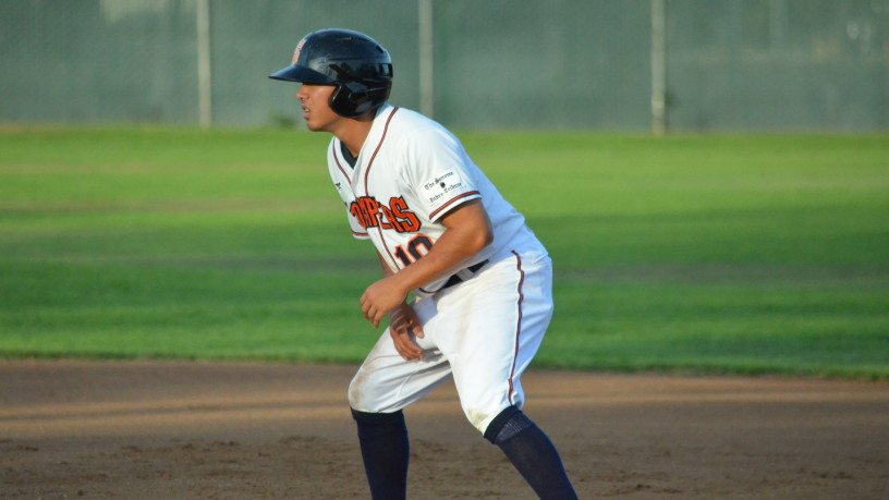Keith Kandal had a tremendous debut with Sonoma on Thursday, as his three-run homer was the difference in Sonoma's 8-6 win.   James Toy III/Sonoma Stompers