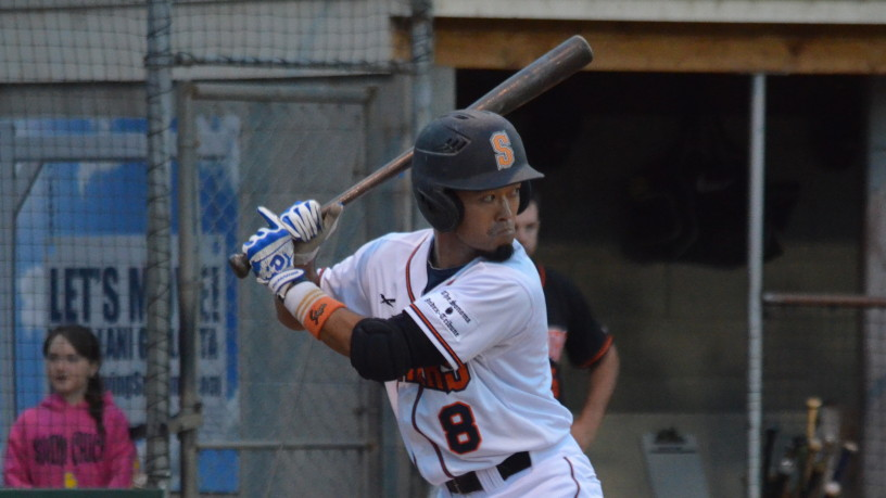 Yuki Yasuda reached base all five times he came to the plate in Sonoma's 8-3 win on Friday night.   James Toy III/Sonoma Stompers
