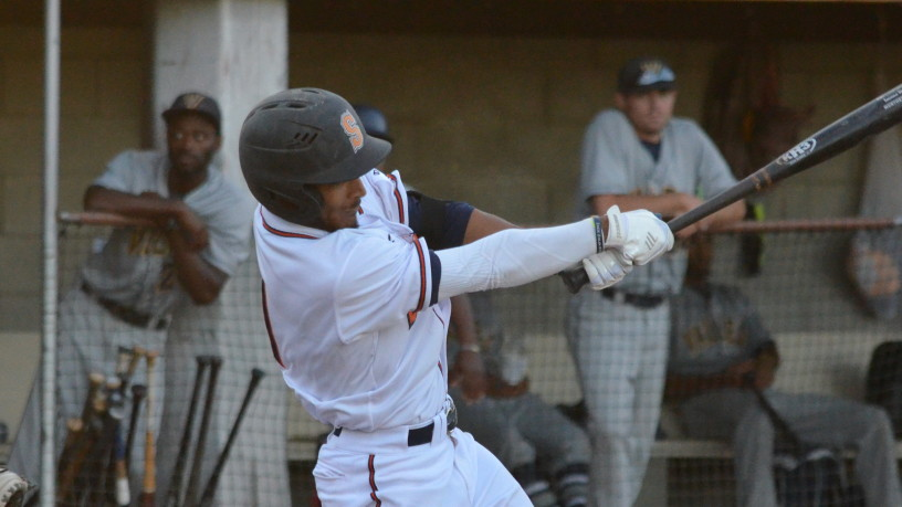 Matt Hibbert had two hits and two runs driven in on Friday night for the Stompers.   James Toy III/Sonoma Stompers