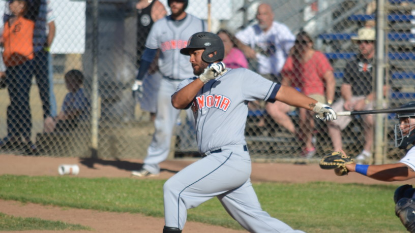 Joel Carranza continues his hot streak with his fourth multi-hit game in his last seven. He is now hitting .311/.351/.533 in 2015.   James Toy III/Sonoma Stompers