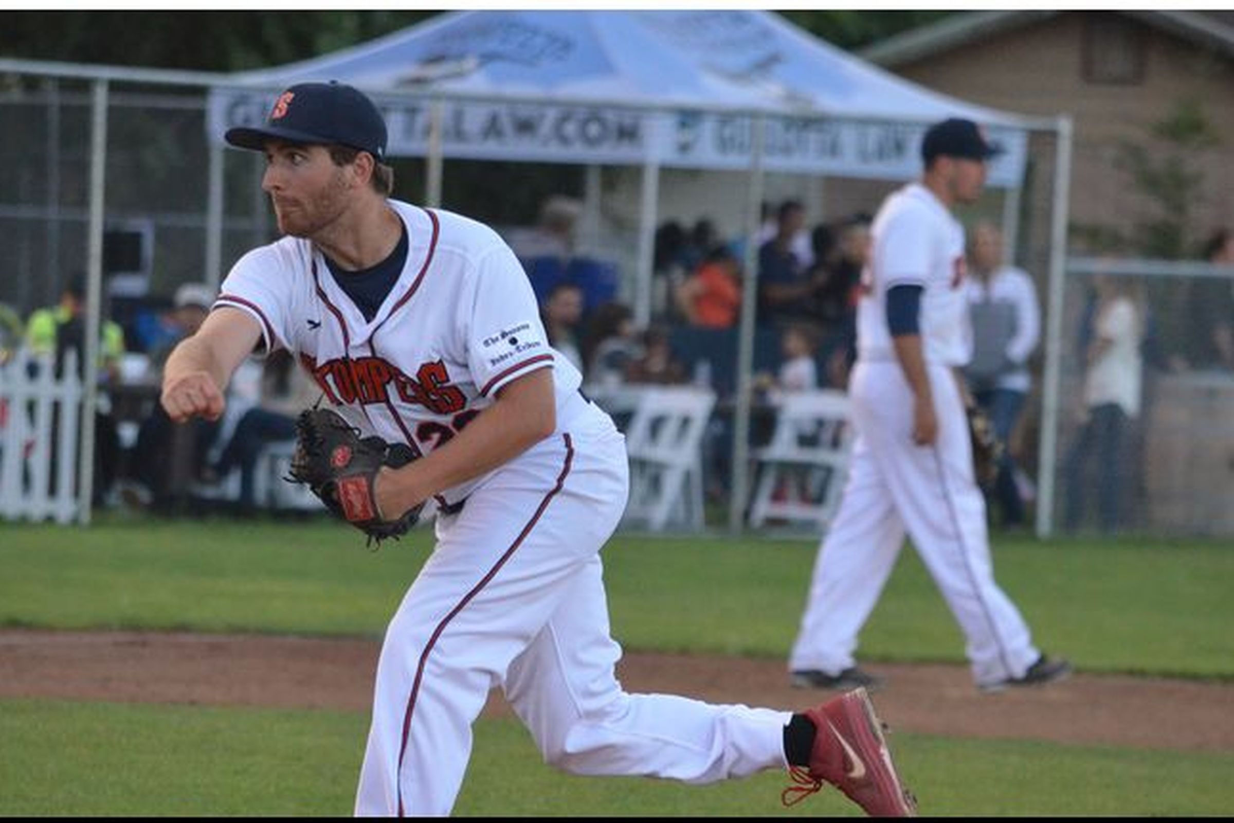 Sean Conroy warms up before his start on Thursday.   James Toy III/Sonoma Stompers