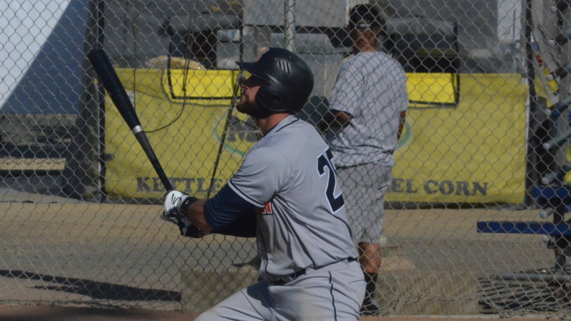 Isaac Wenrich set a Stompers record with seven RBIs in Sonoma's 17-3 win over Vallejo.   James Toy III/Sonoma Stompers