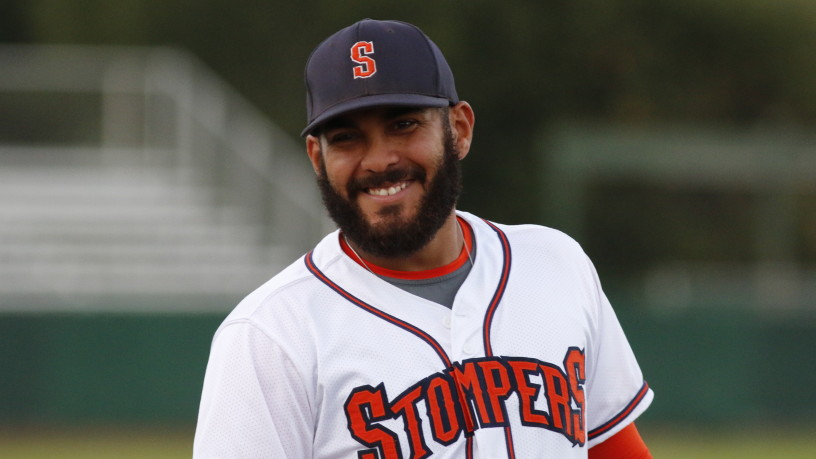 Joel Carranza returns for his second season after setting the Pacific Association single-season home run record in 2014.   Staff Photo/Sonoma Stompers