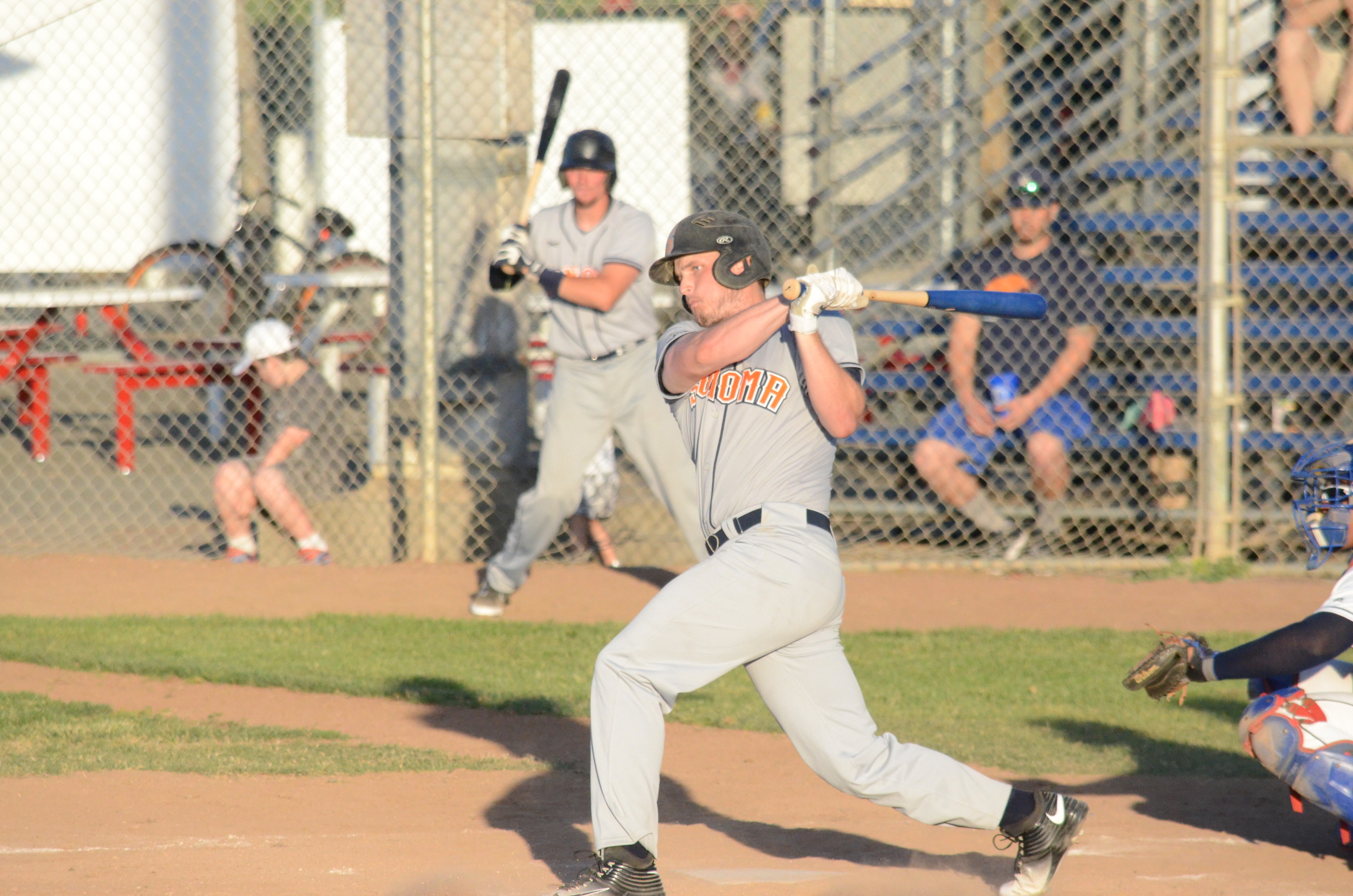 Ethan Szabo had two hits on Tuesday night.   James Toy III/Sonoma Stompers