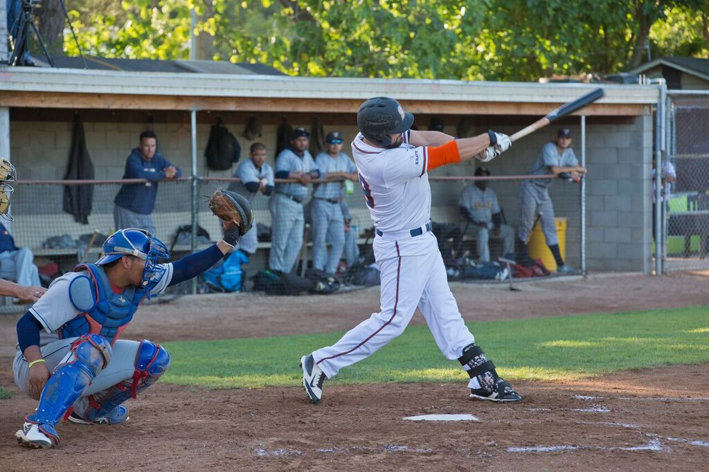Caleb Bryson went 3 for 3 with a home run, and 2 RBIs Sunday.   Rick Bolen/Sonoma Stompers