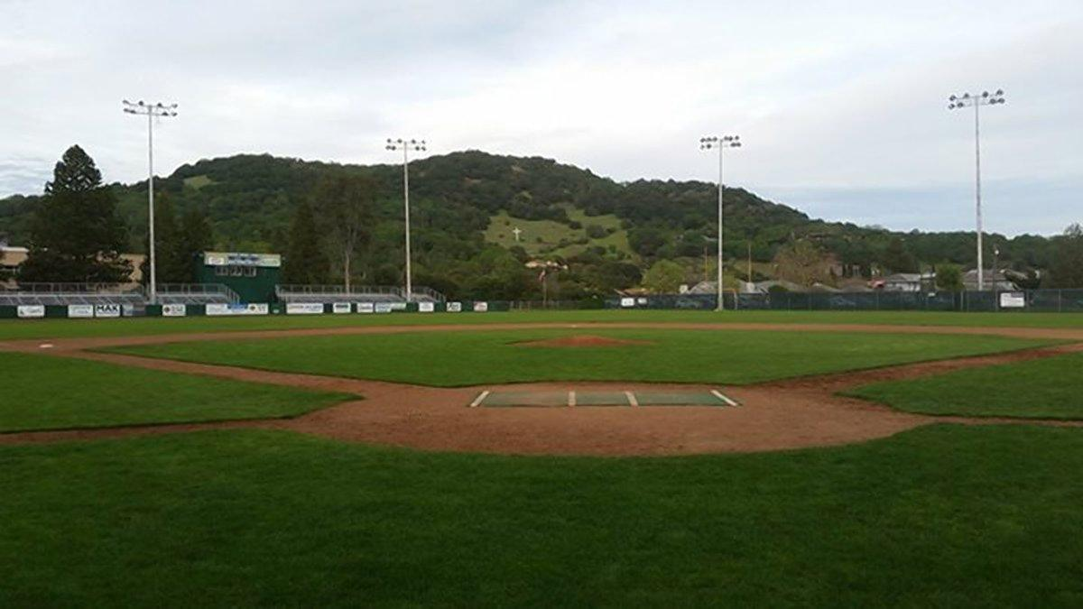 People's Home Equity Ballpark at Arnold Field will be the site on Friday night for a momentous occasion in baseball history. Kelsie Whitmore and Stacy Piagno will start for the Stompers that night.   Ben Lindbergh/Sonoma Stompers