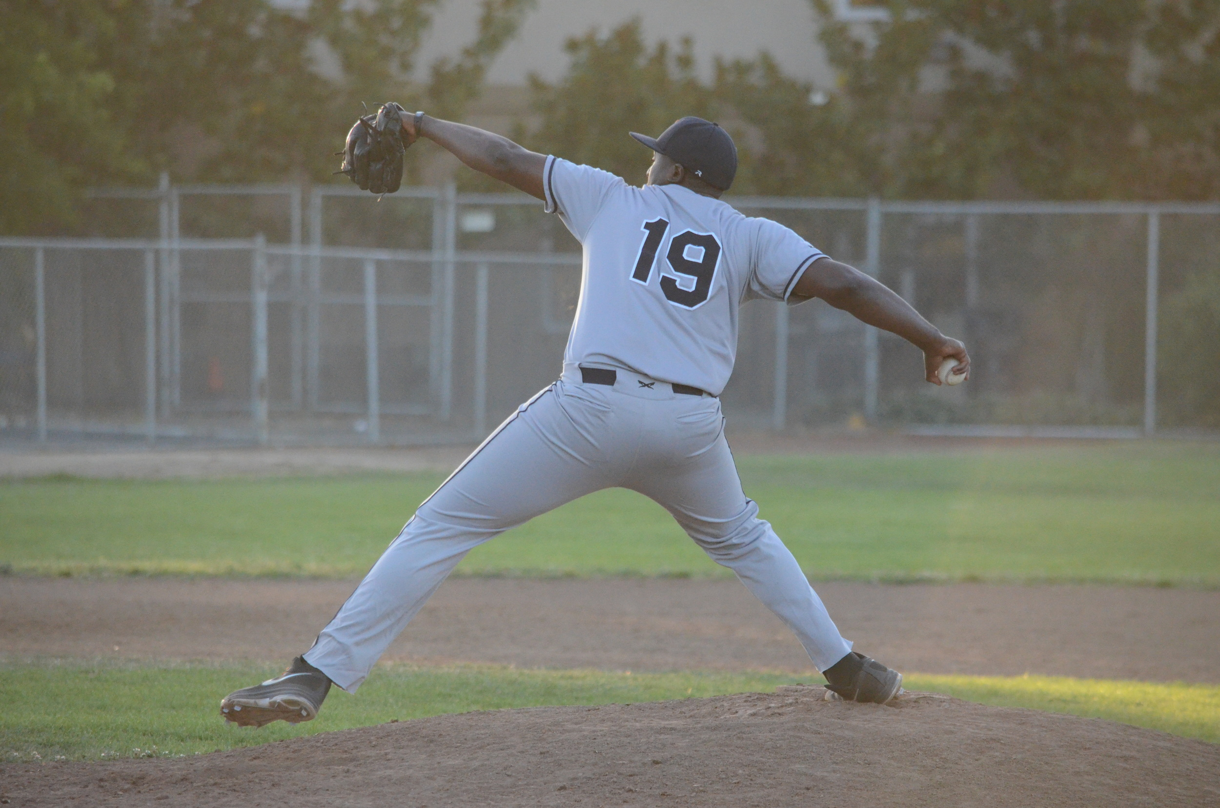 Mike Jackson Jr. picked up his fourth win of the season with a complete game Saturday against the Admirals. Jackson Jr. allowed only three hits and struck out eight on only 95 pitches.   James Toy III/Sonoma Stompers