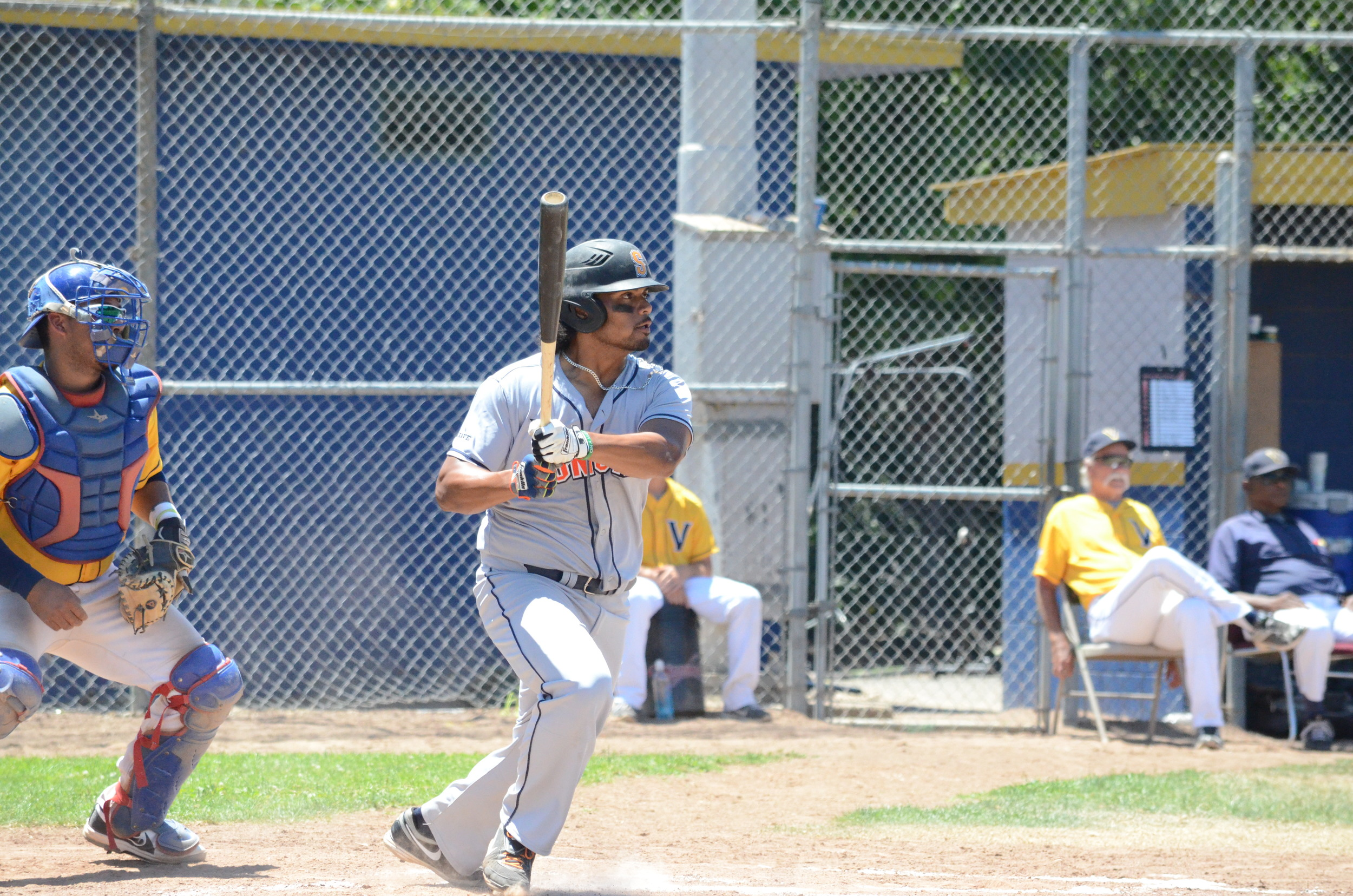 Daniel Baptista and the middle of the order fueled a 10-5 win over the Diamonds on Sunday afternoon. Baptista finished 3 for 6 with 3 driven in on the afternoon.   James Toy III/Sonoma Stompers