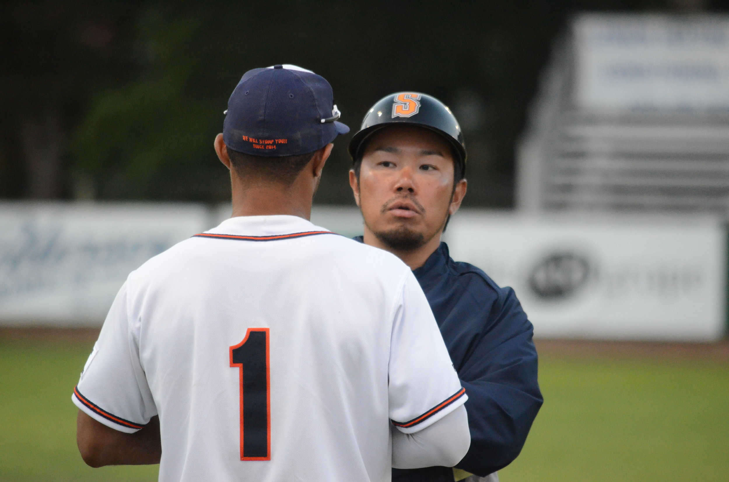 Sonoma Stompers Manager Takashi Miyoshi was selected by General Managers, Managers, and Broadcasters from around the Pacific Association as the 2016 Manager of the Year.   James Toy III/ Sonoma Stompers
