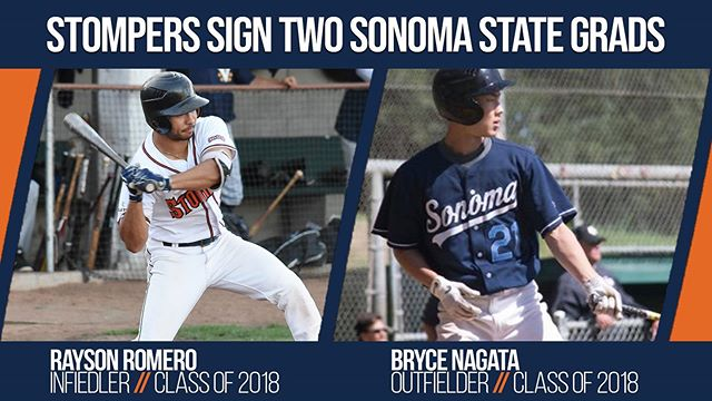 We're excited to announce we've signed two former Sonoma State Seawolves for the 2019 season! Please welcome Rayson Romero and Bryce Nagata!